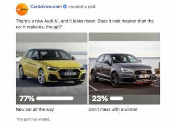 Poll: 2019 Audi A1 is a styling winner