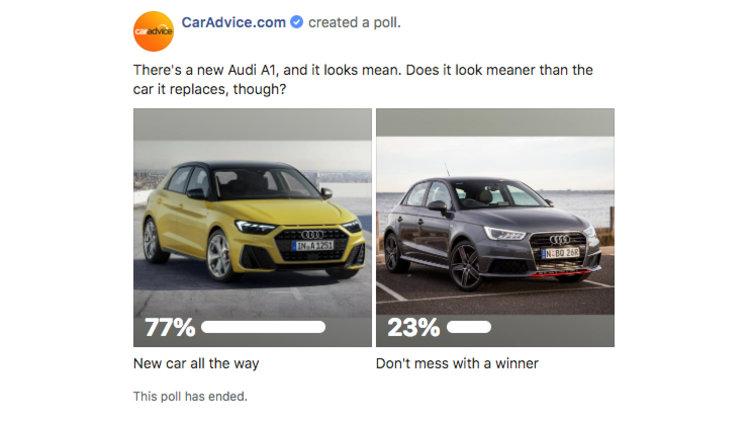 467 Poll: 2019 Audi A1 is a styling winner